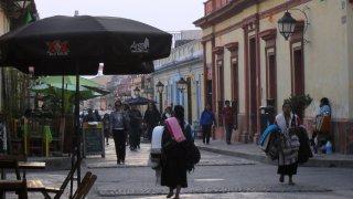 Rue piétonne du centre de San Cristobal de Las Casas