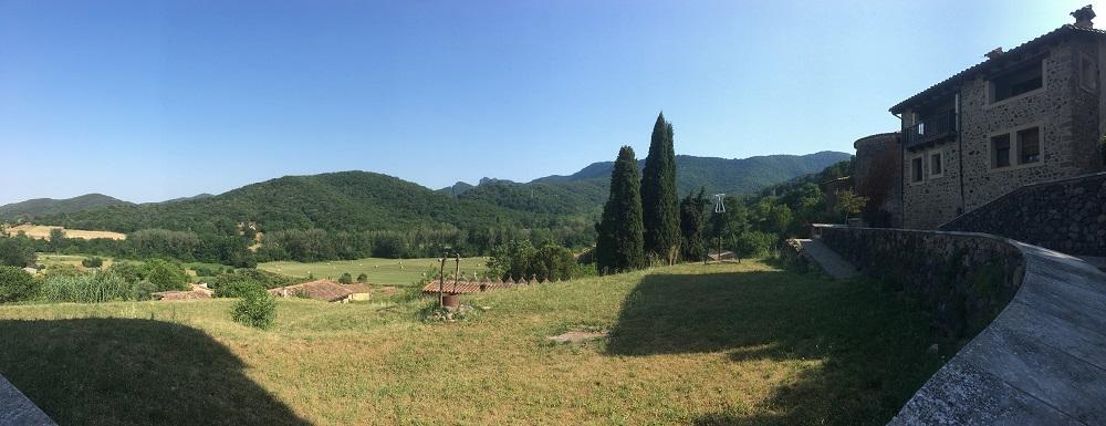 Santa Pau, village médiéval au coeur des volcans de la Garrotxa