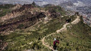 Seconde partie du trek et vue sur la Muela del diablo – La Paz, Bolivie