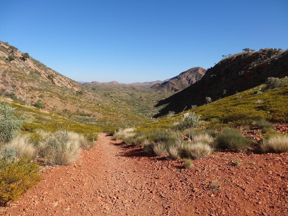 Sentier vallonné de l'Ormiston Pound Walk – Australie