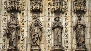 Séville – Cathédrale, statues