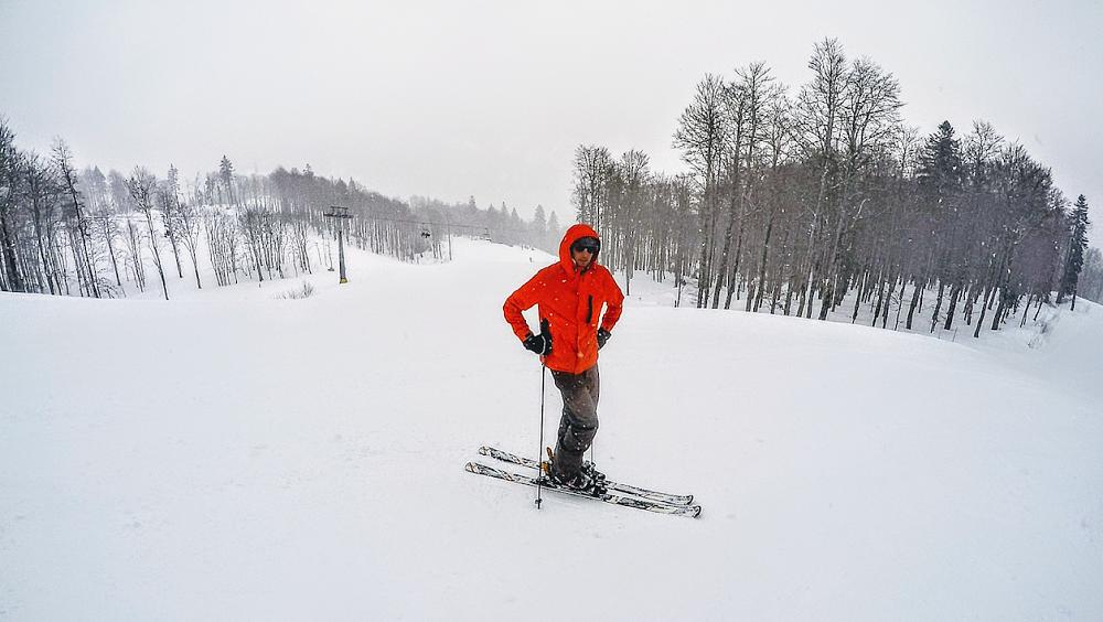 Un invité surprise au domaine skiable de Kolasin !