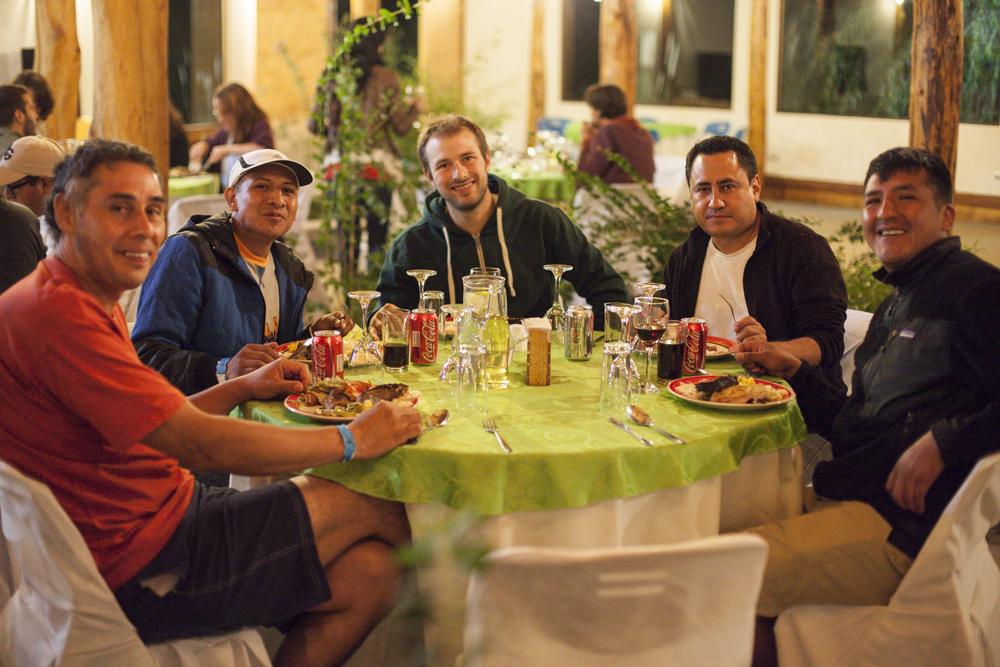 Raul – Grover – Edouard – Orlando – Henrry