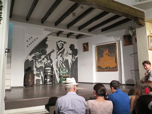 """Spectacle de flamenco """"Los Gallos"""" à Séville – Andalousie"""
