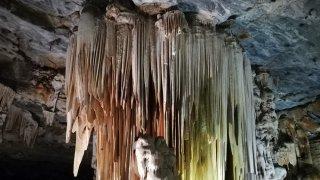 Stalactites dans les Cango Caves – Route des Jardins – Terra South Africa