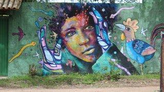 Street art à São Jorge – Brésil