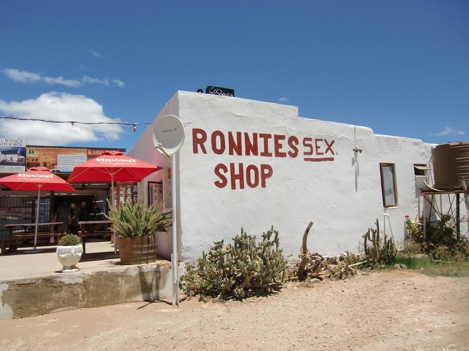 Sur le bord de la route dans le Karoo – Afrique du Sud