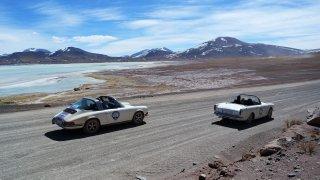 Sur la route du Salar de Aguas Calientes et Salar de Talar – Rallye Argentine Chili