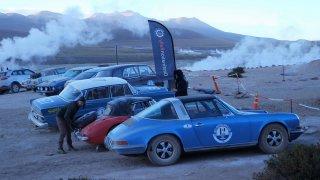 Geysers du Tatio à 4500 m d'altitude, Chili – Rallye Argentine Chili