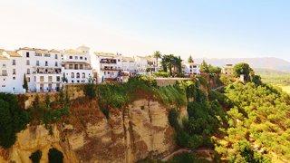 Sur les hauteurs de Ronda, vue depuis hotel Parador – Andalousie