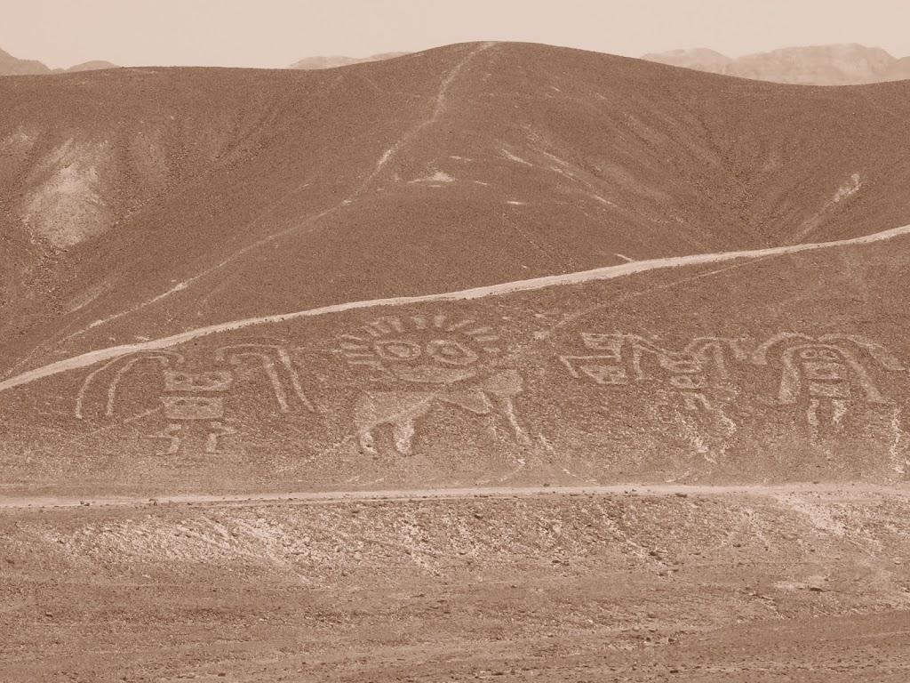 Survol des lignes de Nazca au Pérou