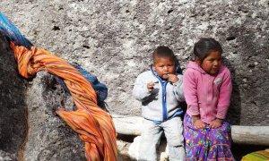 Enfants Tarahumaras au Mexique
