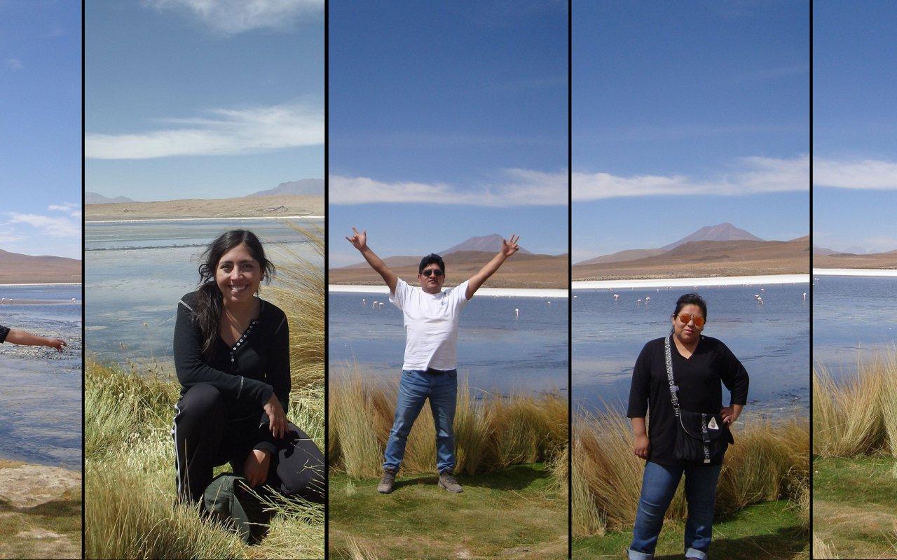 Team Multimedia en mode expédition à Uyuni