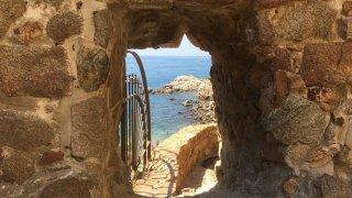 Tossa de Mar, depuis la muraille – voyage en Catalogne
