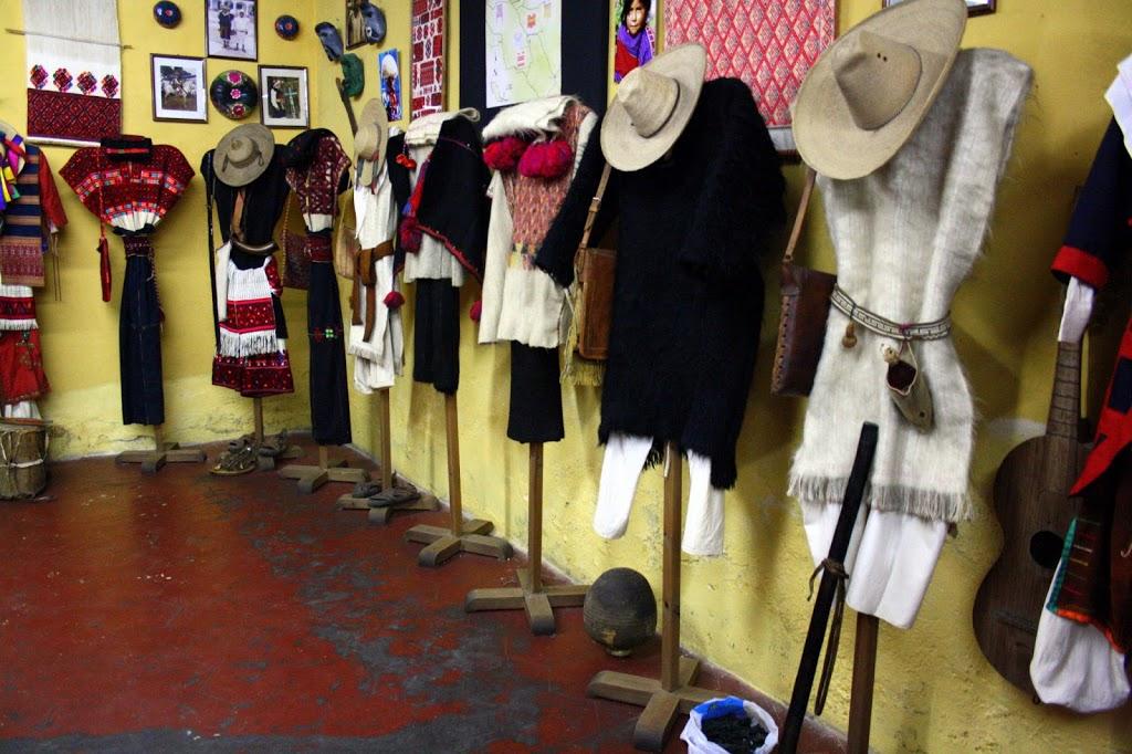 Musée des costumes traditionnels au Chiapas au Mexique
