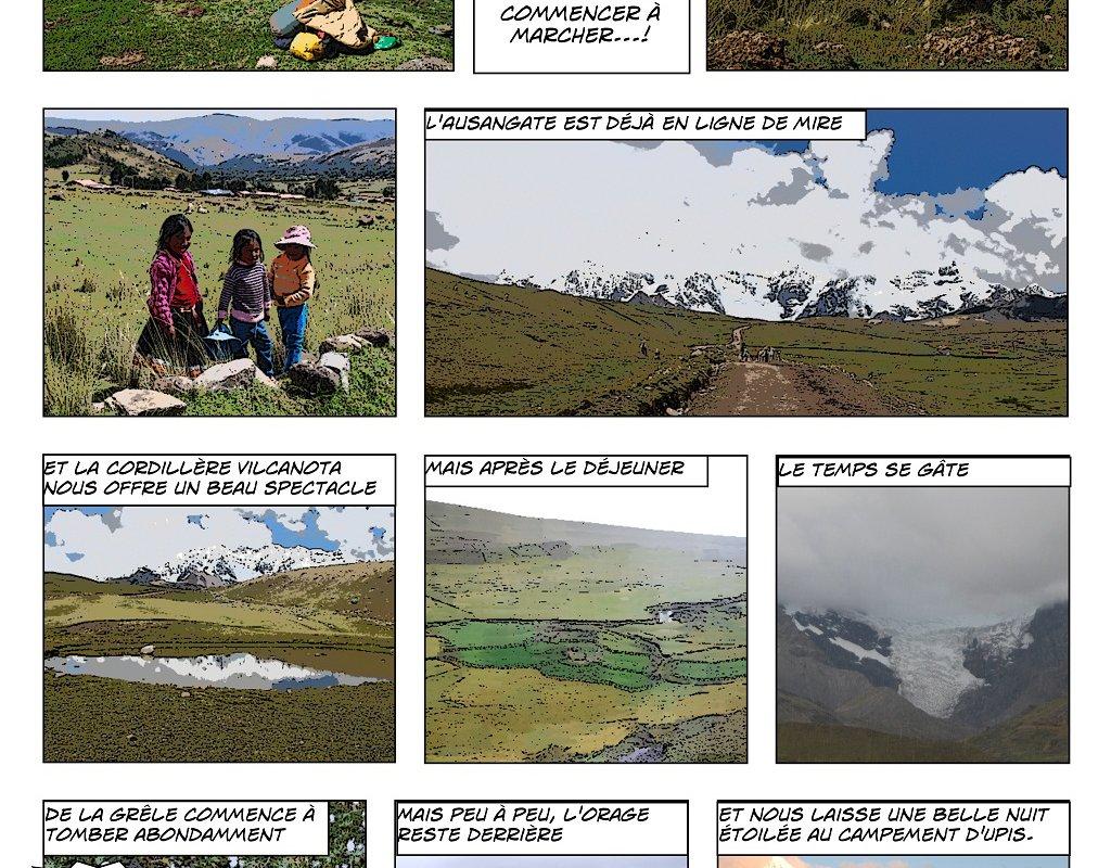 Le Trek de l'Ausangate en BD – Alexandra, Terra Andina Peru, voyages Pérou – page 2