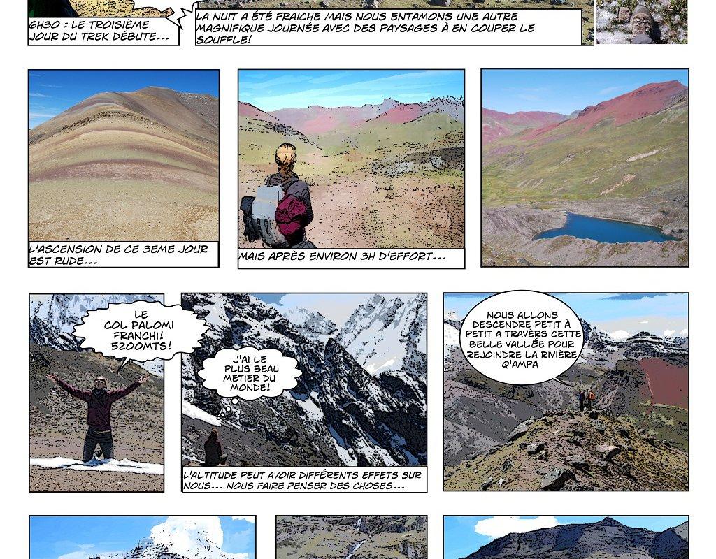 Le Trek de l'Ausangate en BD – Alexandra, Terra Andina Peru, voyages Pérou – page 4