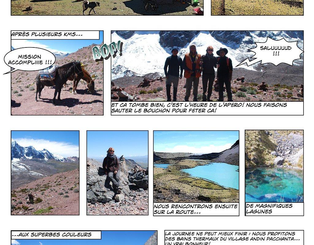 Le Trek de l'Ausangate en BD – Alexandra, Terra Andina Peru, voyages Pérou – page 5