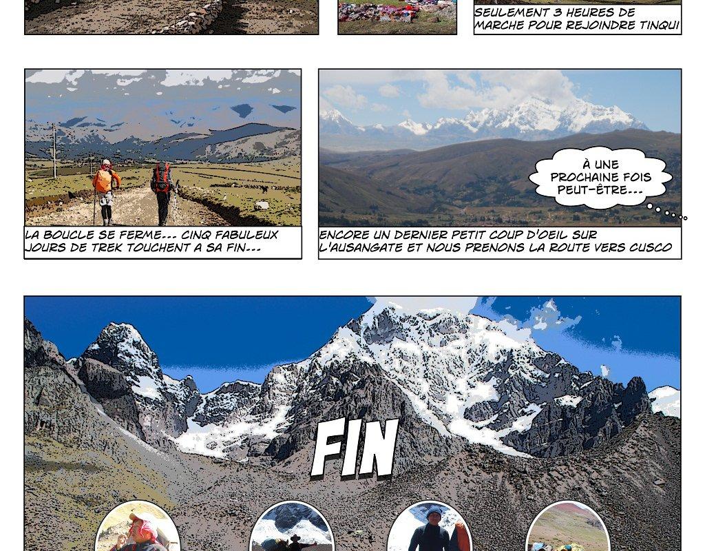 Le Trek de l'Ausangate en BD – Alexandra, Terra Andina Peru, voyages Pérou – page 6
