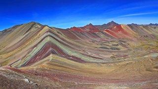 Vinicunca Montagne arc-en-ciel au Pérou