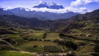 Vallée de l'Illimani – La Paz, Bolivie