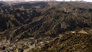 Vallée des âmes et quartier d'Obejuyo – La Paz, Bolivie