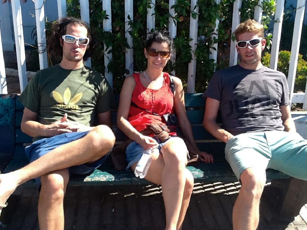 Florian, Myriam et Antoine en pause – Balade à valparaiso