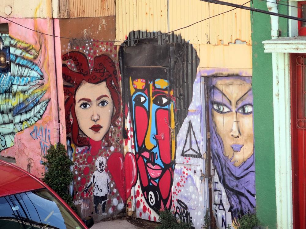 Graffitis de Valparaiso