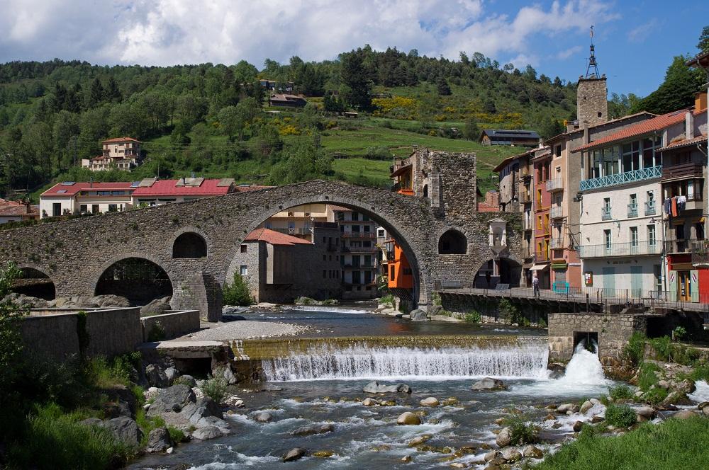 Village de Camprodon en Catalogne