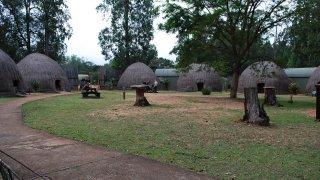 Village de huttes beehive swazis