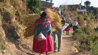 Village Yumani – Lac Titicaca