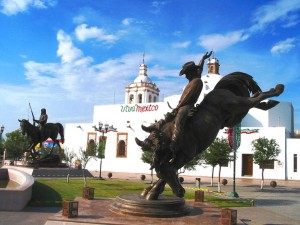 Ville de Chihuahua au Mexique