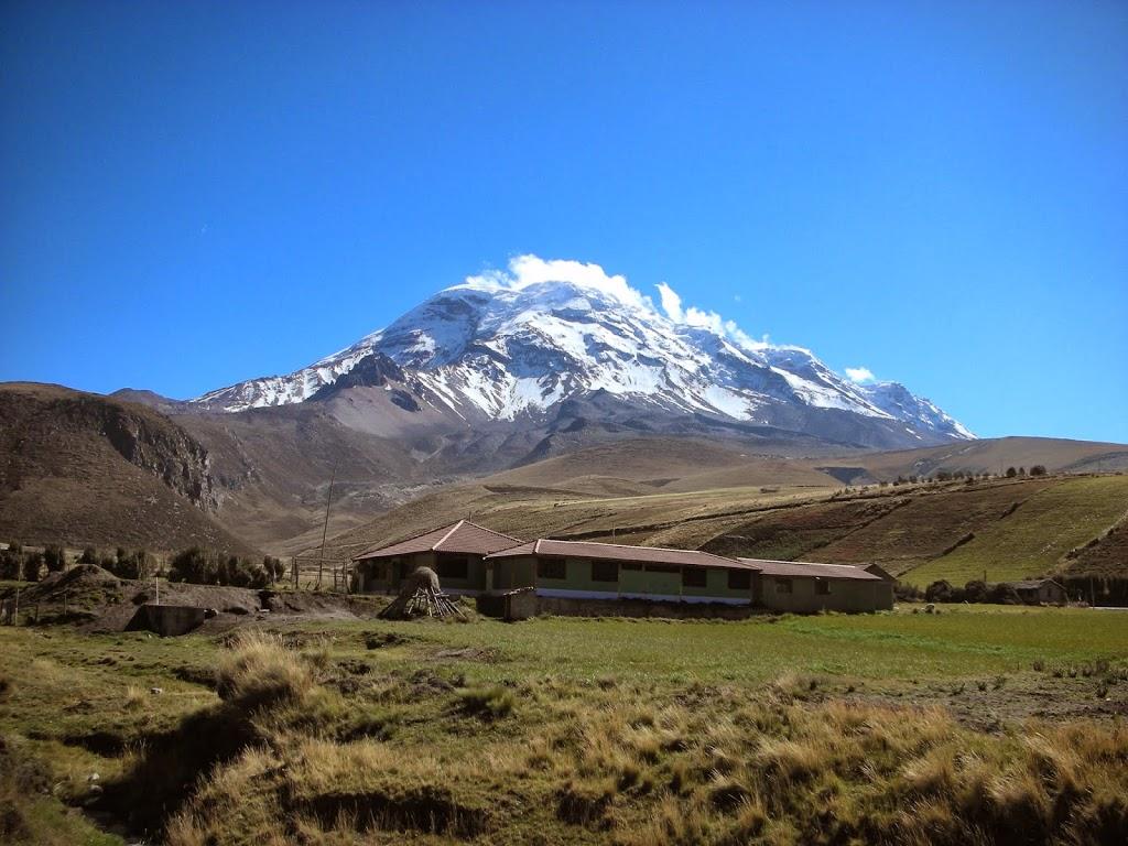 Volcan Chimborazo en Equateur