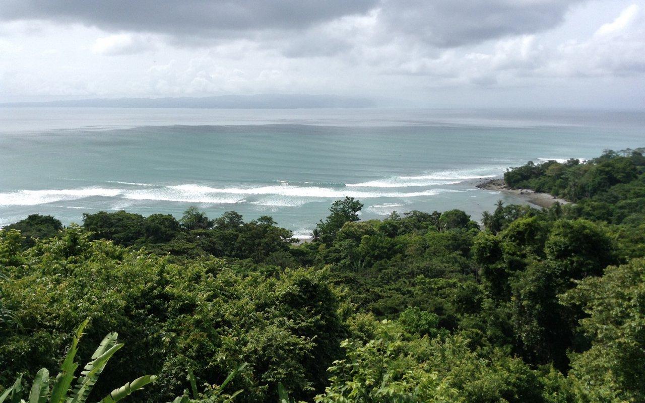 Vue de l'Ecolodge Lapa Rios – Costa Rica