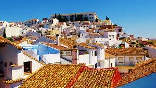Vue depuis l'hôtel Enfrente Arte à Ronda – Andalousie