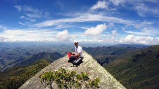 Vue du sommet du Pico da Bacia – 2095m