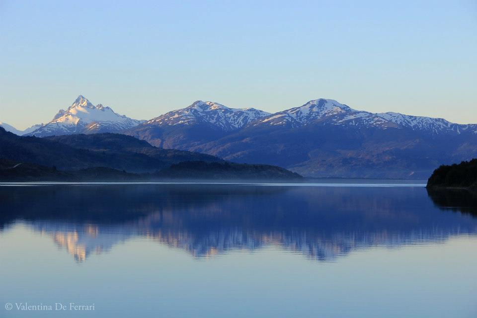 Vue du Lac Carrera – Patagonie Chili