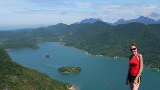 Vue panoramique région Paraty
