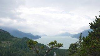 Vue sur la Baie Howe – Voyage Squamish – Terra Canada