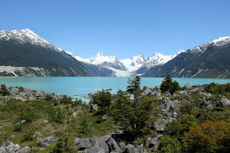 Vue sur le glacier Leones – Patagonie Chili