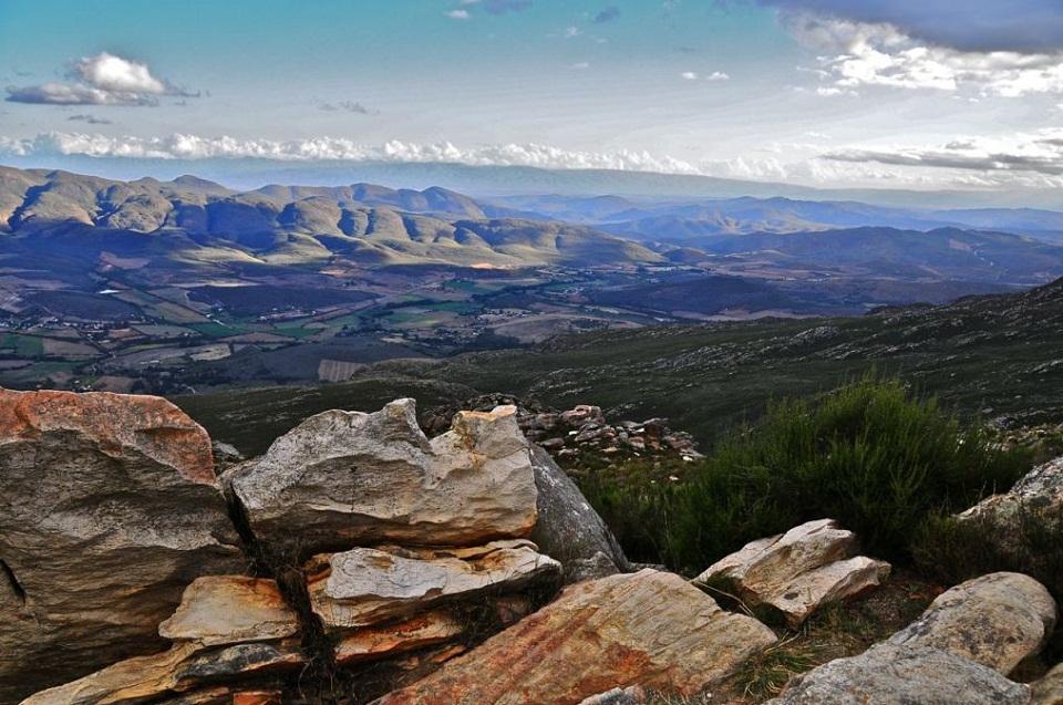 Vue sur le Karoo, Afrique du Sud