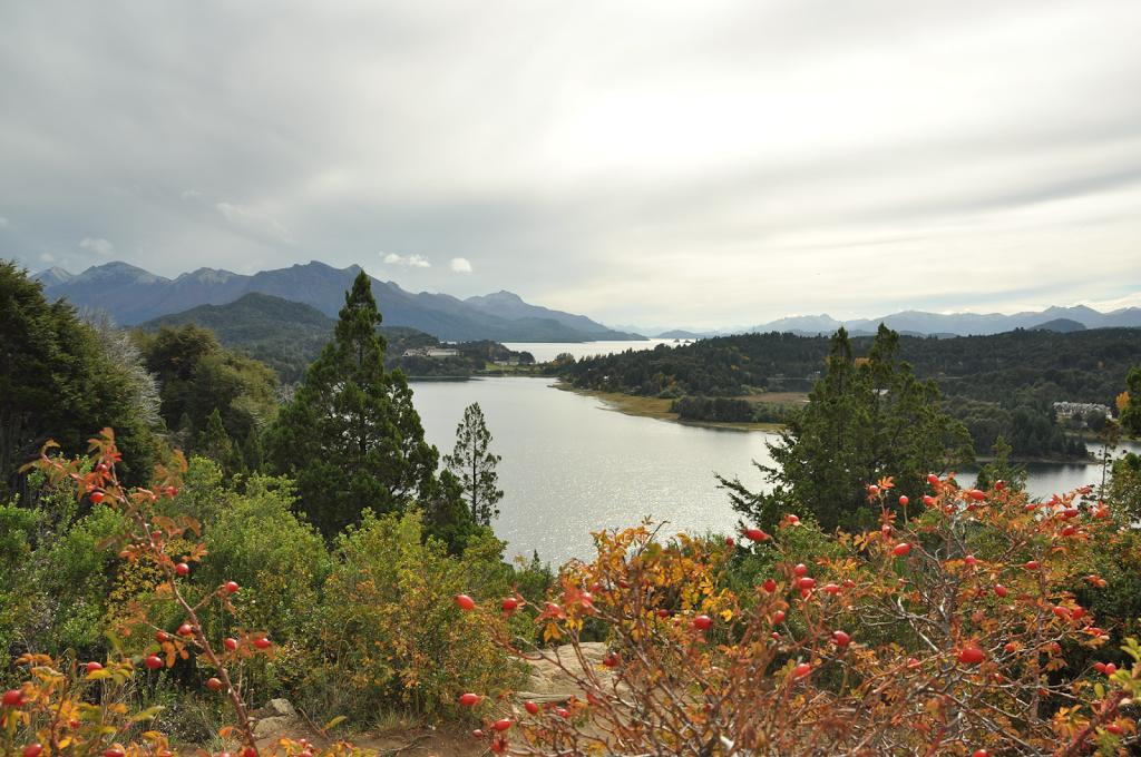 Vues sur le lac Nahuel Huapi